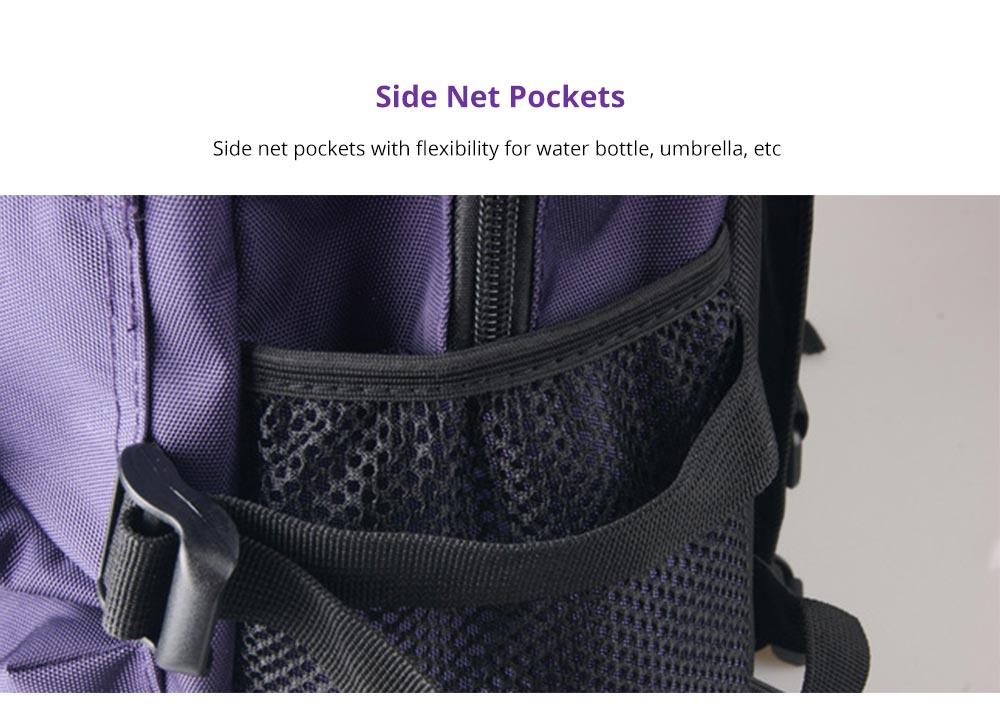 Side Net Pockets