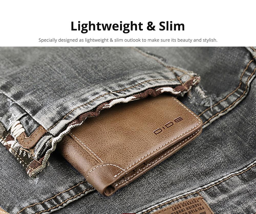 Folio Genuine Leather Men's Wallet