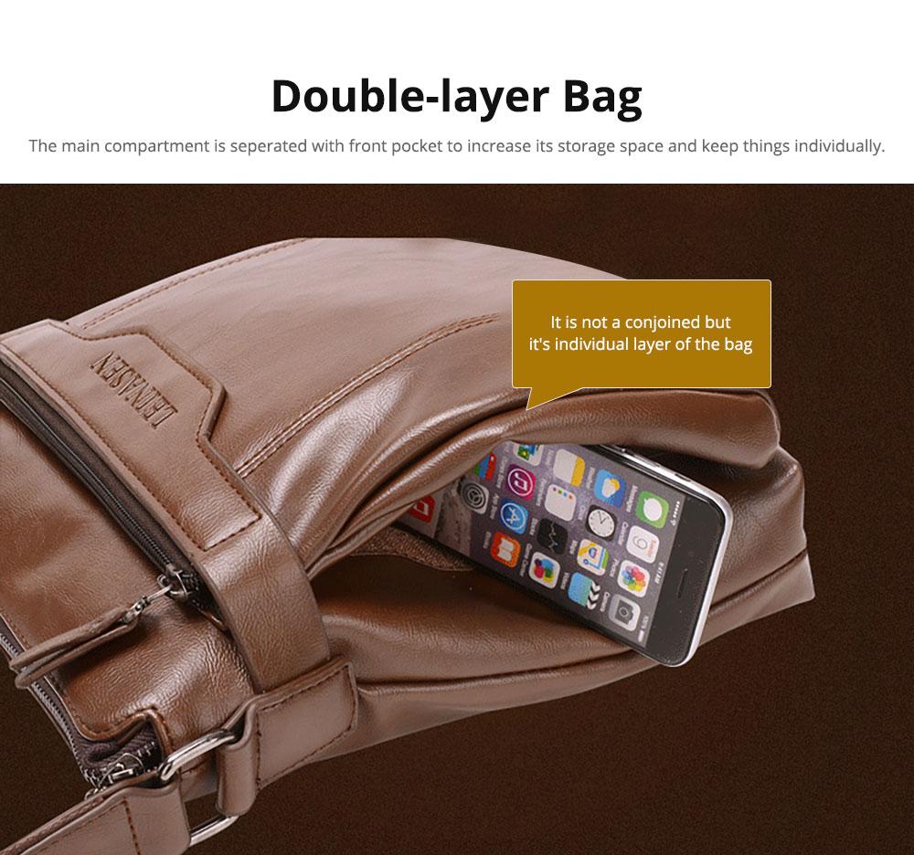Handmade Durable Lightweight Thin Oil Wax Genuine Leather Men's Wallet