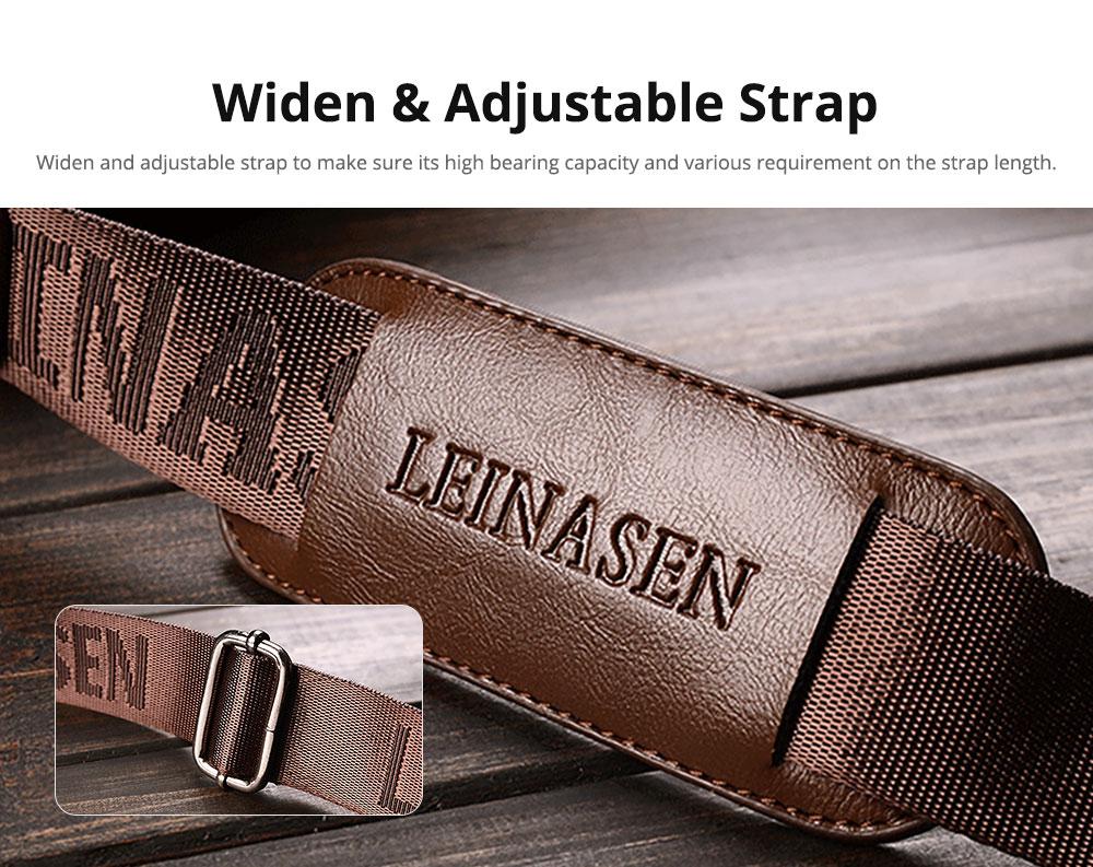 Lightweight Thin Oil Wax Genuine Leather Men's Wallet