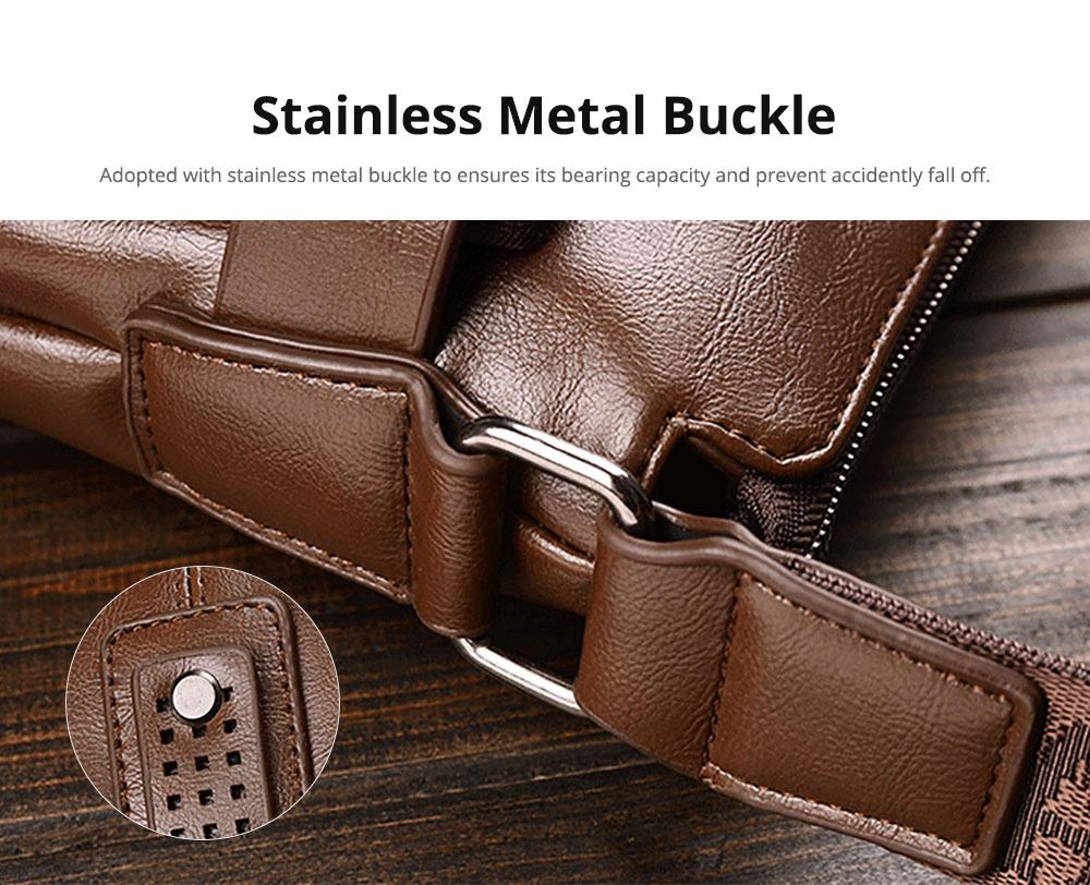 Thin Oil Wax Genuine Leather Men's Wallet