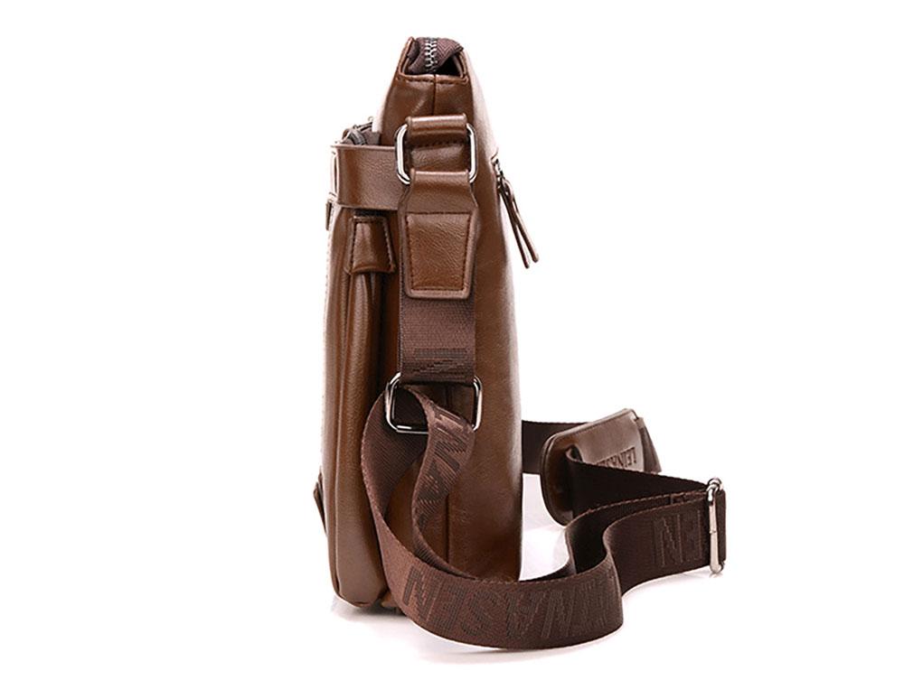 Business Leather Shoulder Bag for Man