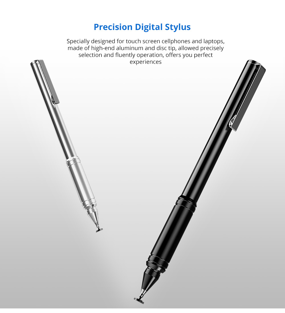 Laptop Cellphone Universal Precision Ballpen Stylus for Kindle Tipad iPhone and All Touch Screens Cell Phones Tablets Screen Touch Sensitive Digital Pens 5