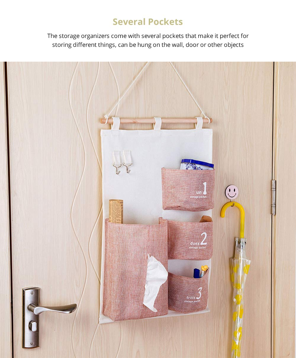 Hanging Organizer Bag Compatible with Bathroom Bedroom Kitchen Wall
