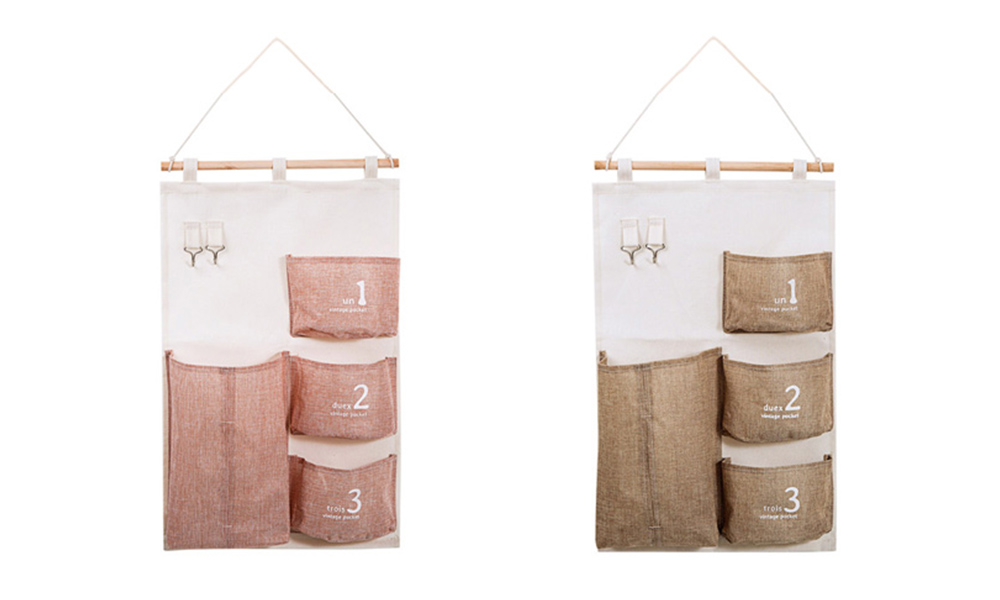 Hanging Organizer Bag Compatible with Bathroom Bedroom