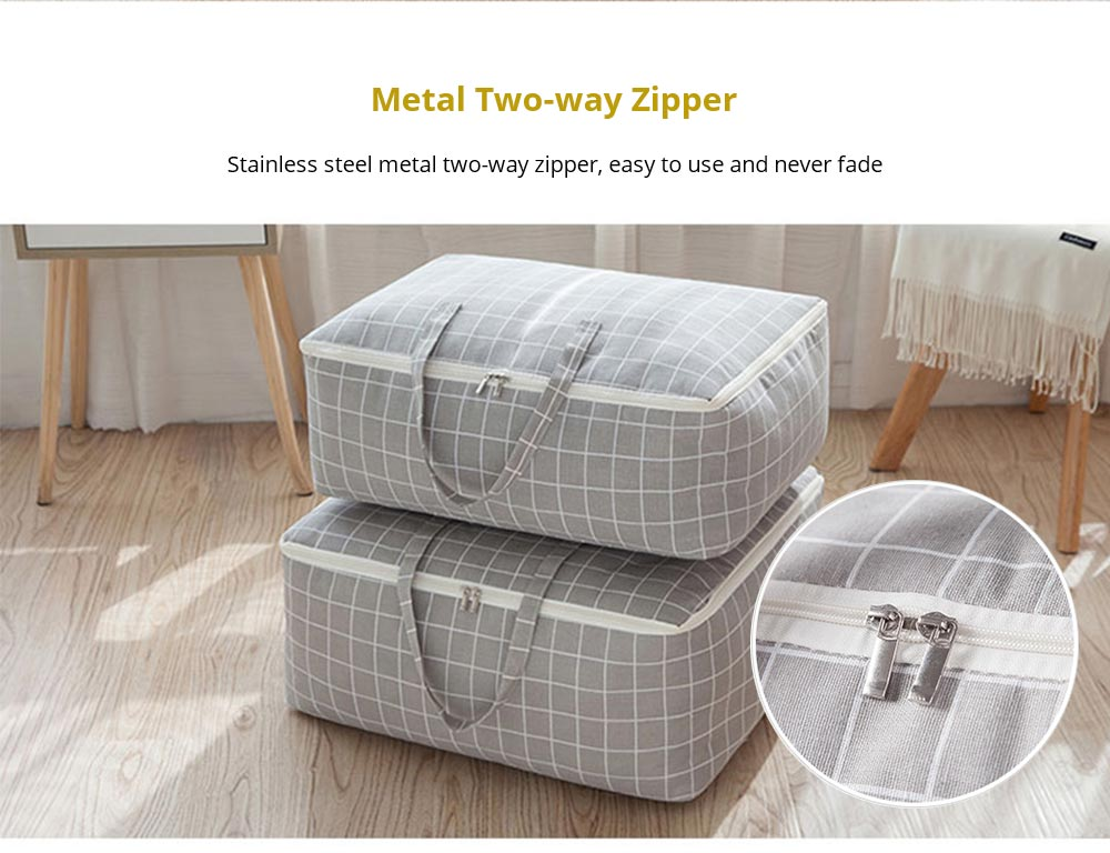 Metal Two-way Zipper