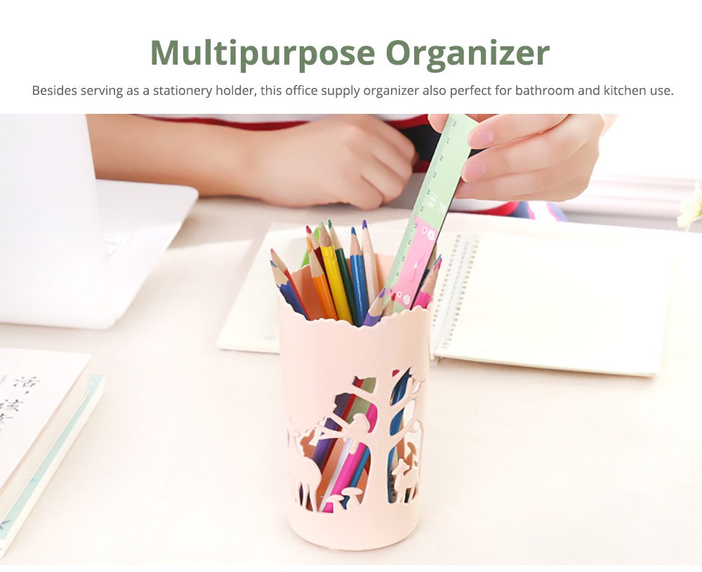 Multipurpose Hollow Out Pencil Organizer