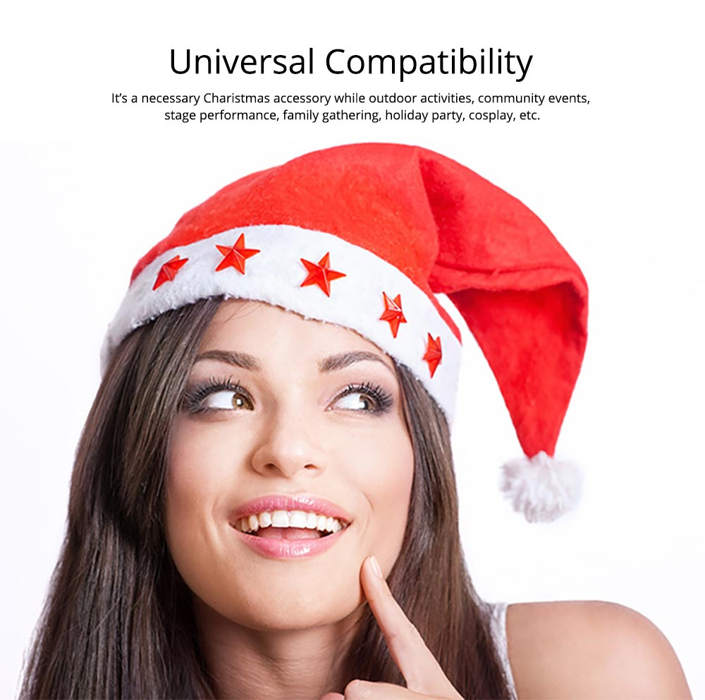 Universal Compatibility Christmas Hat