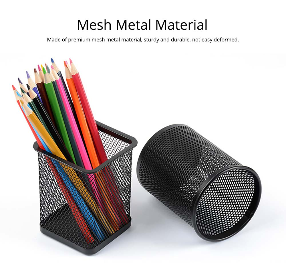 Metal Pen Organizer