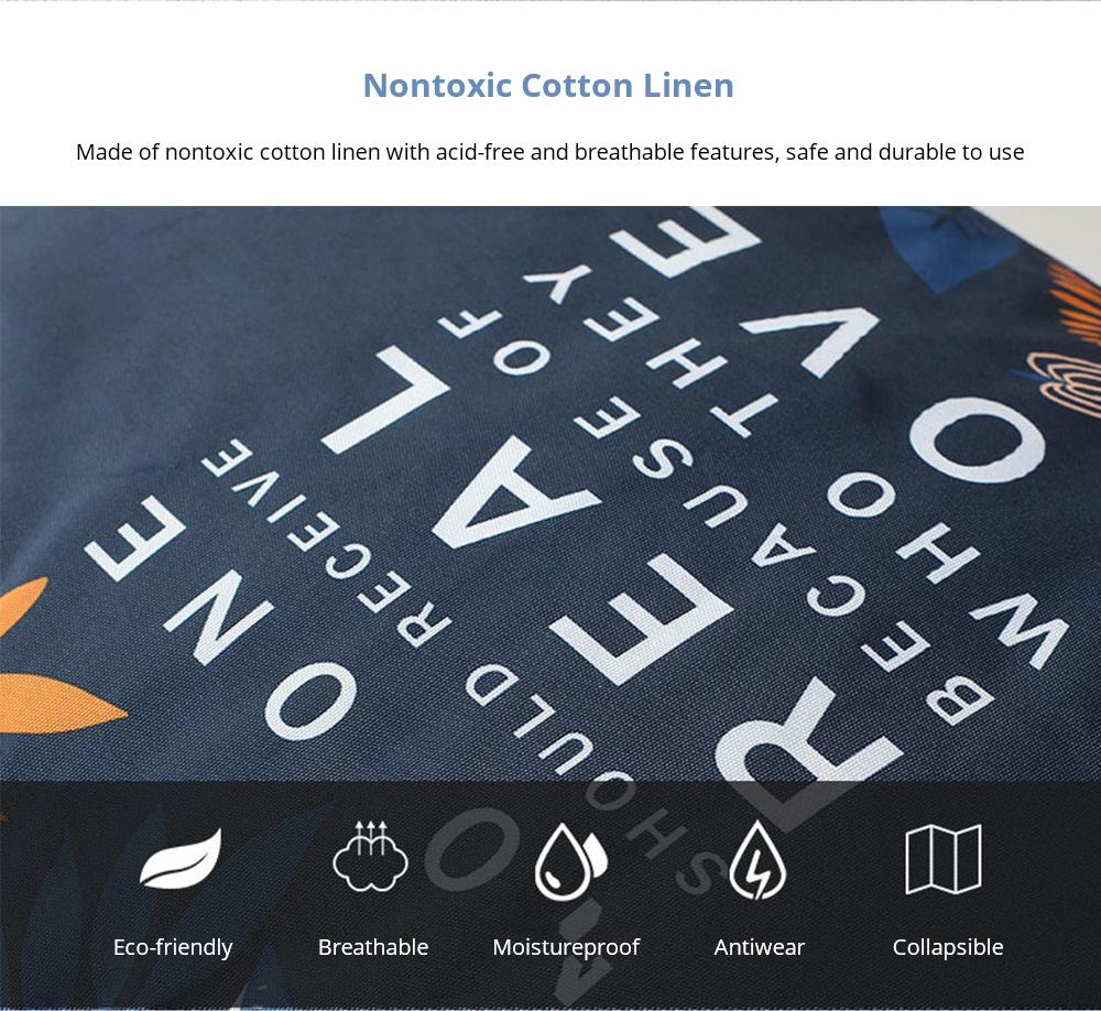 Nontoxic Cotton Linen bag