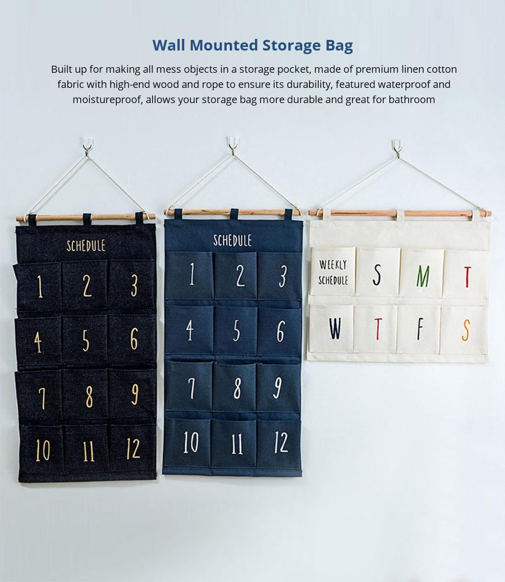 Wall Mounted Storage Bag