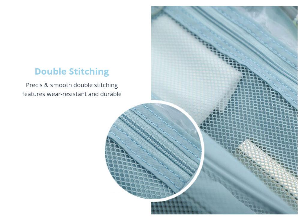 Double Stitching Multifunctional Makeup Bag