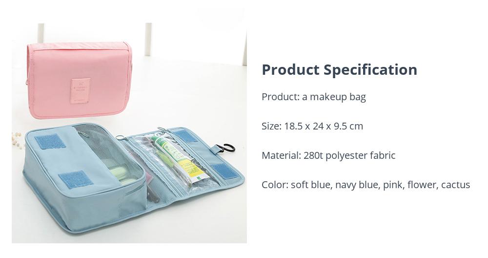 Portable Makeup Organizer Bag