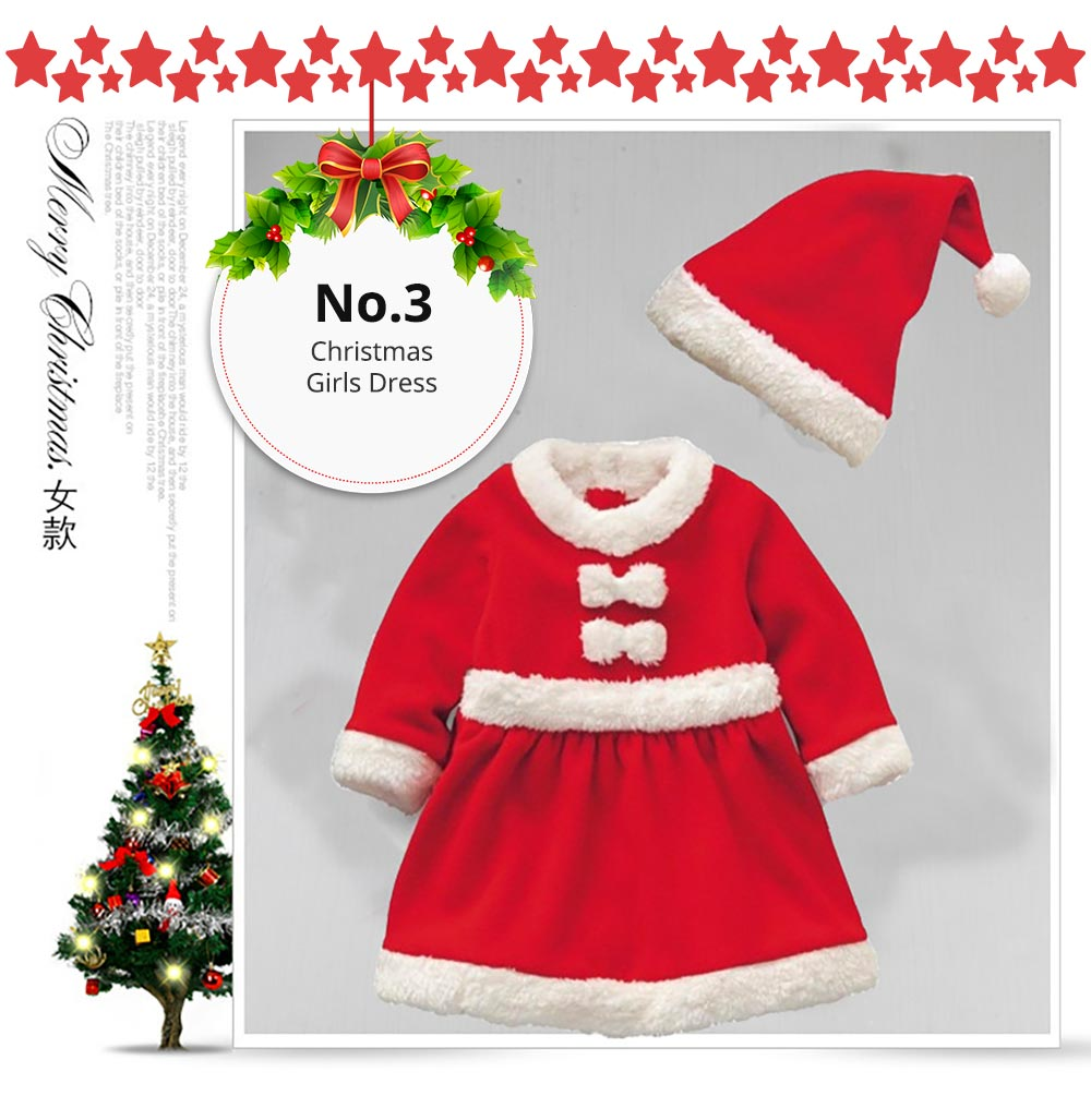 Kids Performance Christmas Costume Set