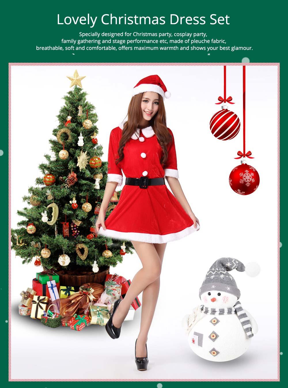 Lovely Christmas Dress Set