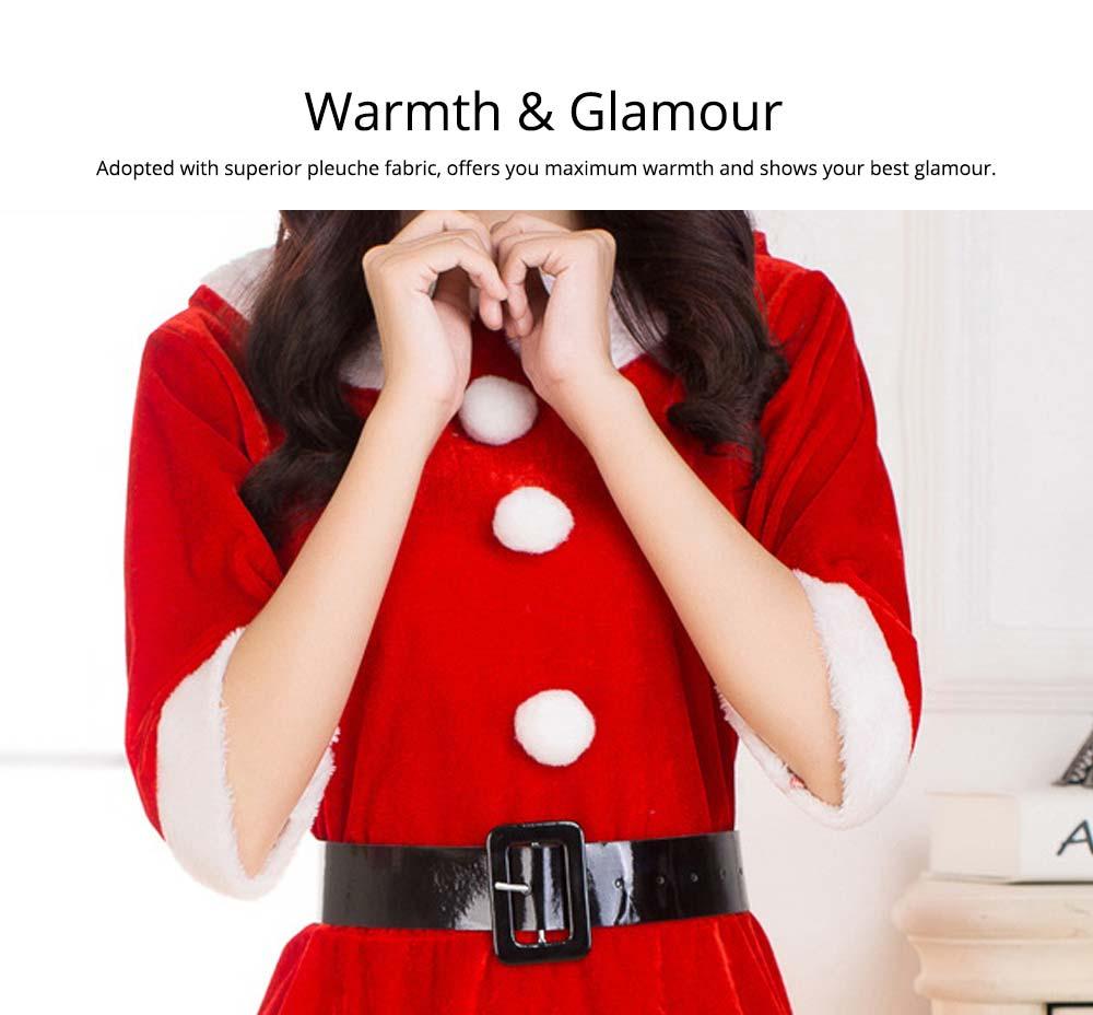 Warmth & Glamour Women Christmas Costume