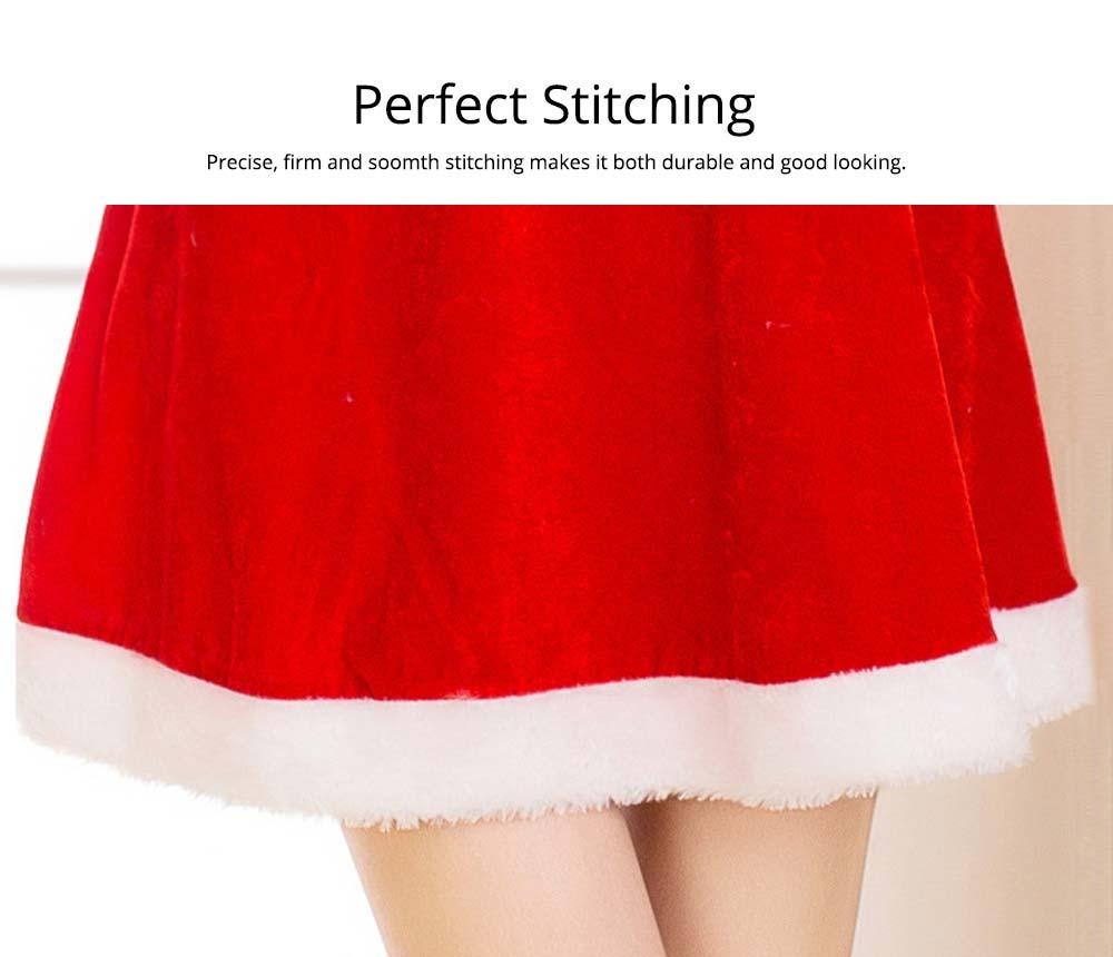 Perfect Stitching Women Christmas Costume