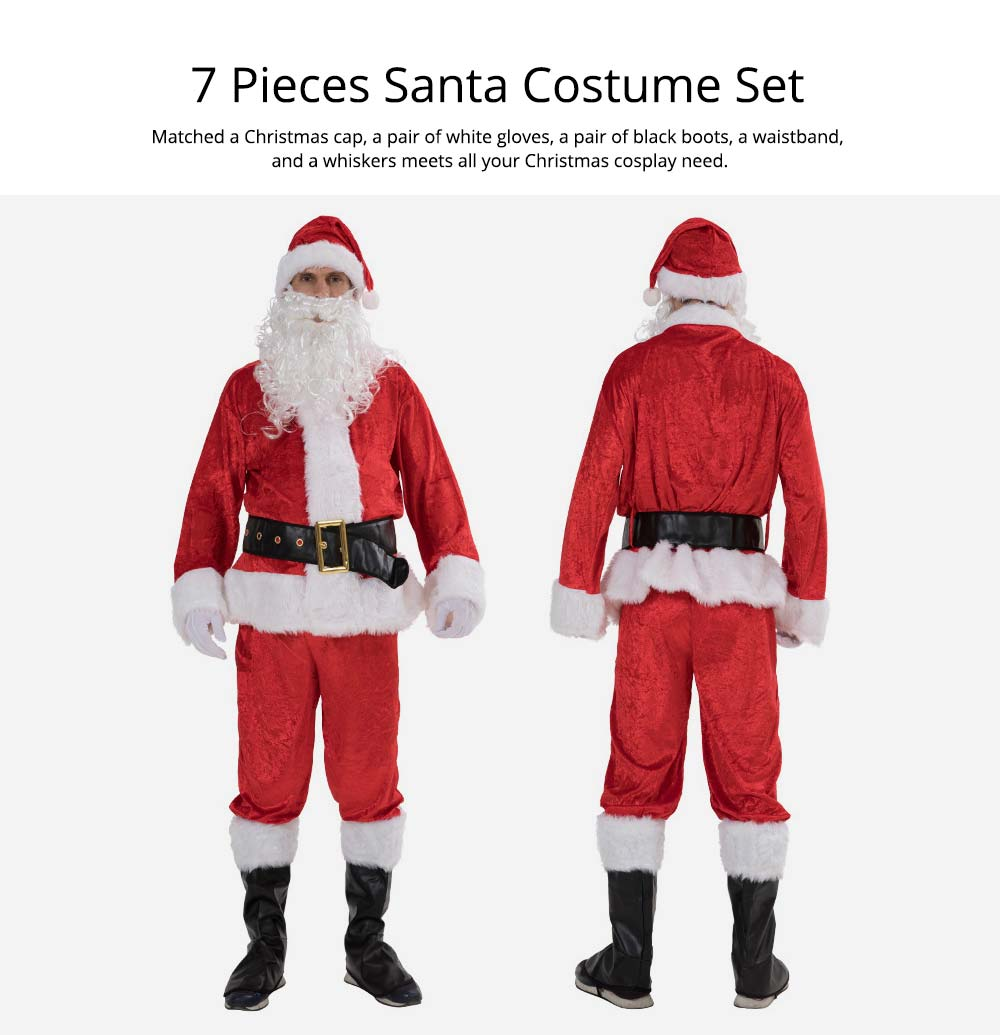 Christmas Costume Set of 7
