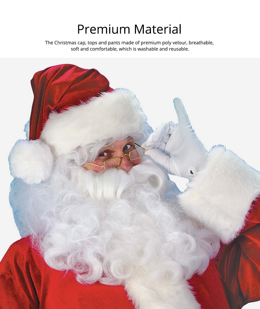 Premium Material Christmas Costume Set