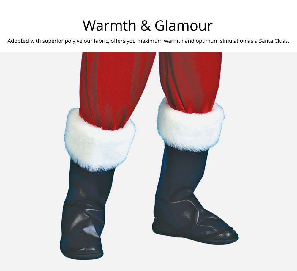 Warmth & Glamour Christmas Costume Set