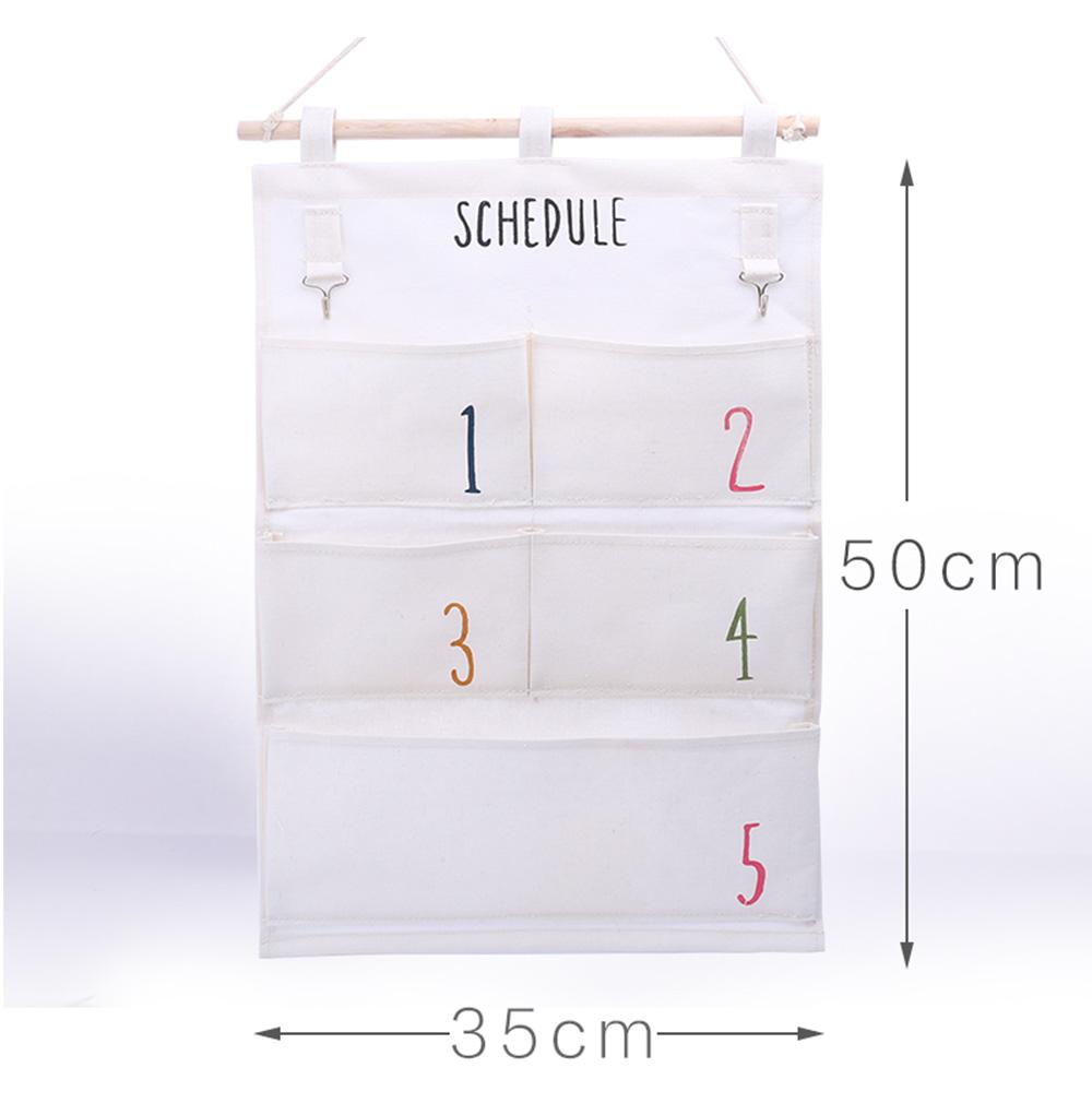 Hanging Organizer Bag size