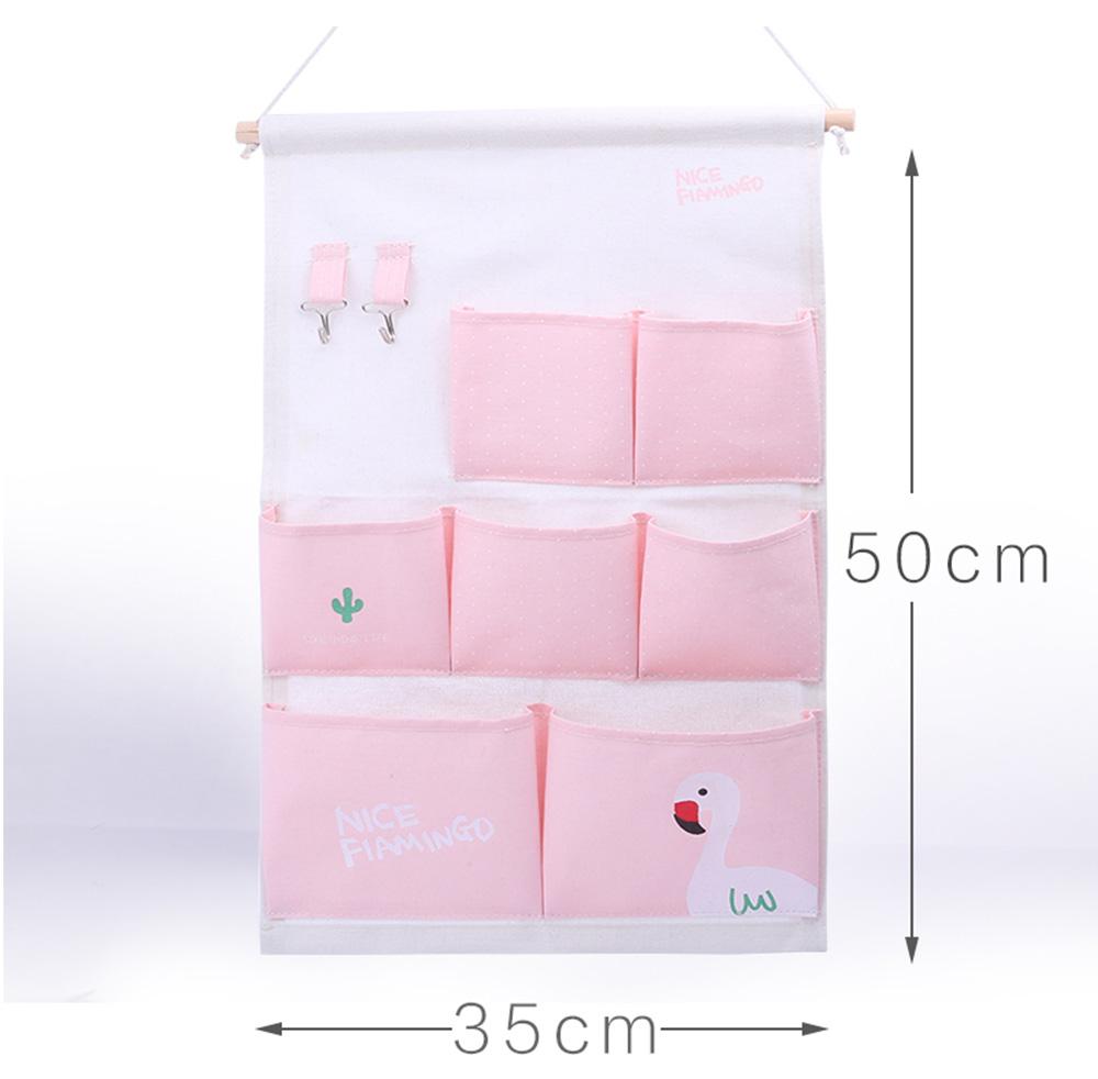 Hanging Organizer Bag - pink