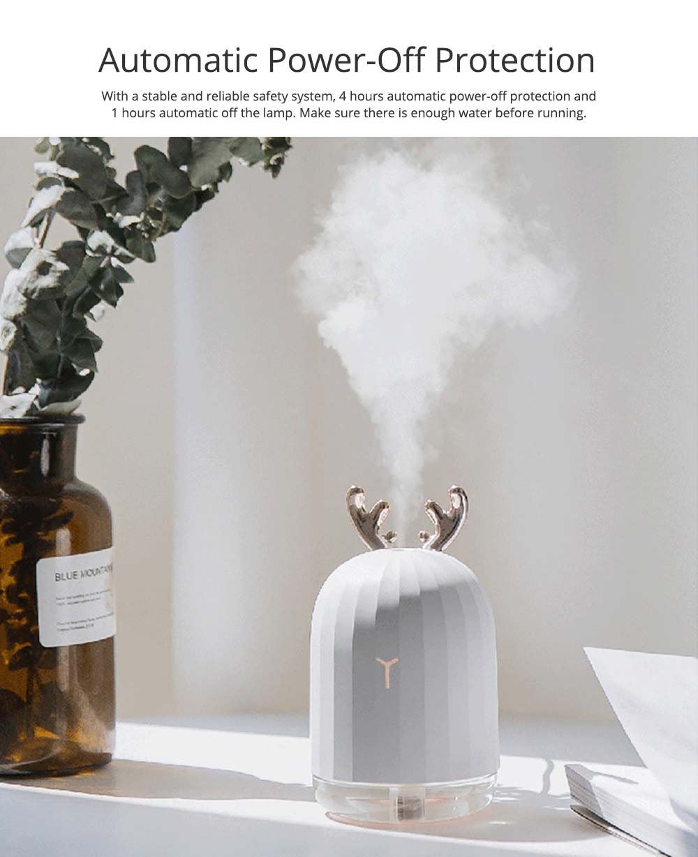 Rabbit Deer USB Vehicle Humidifier