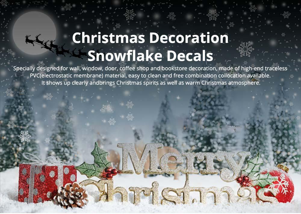Snowflake Decals Christmas