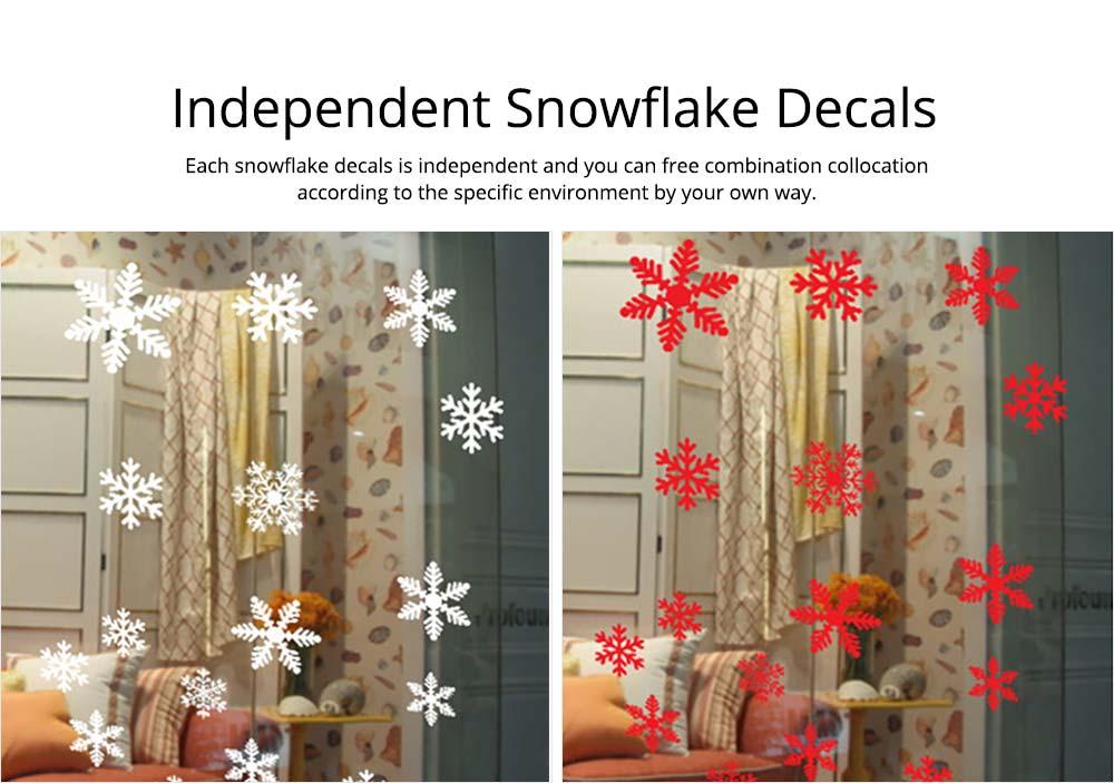 Christmas Ornament Snowflake Stickers