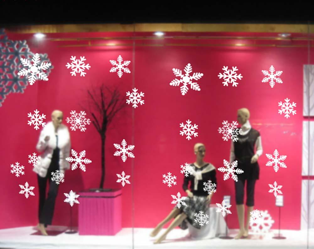 Christmas Decoration Snowflake Decals
