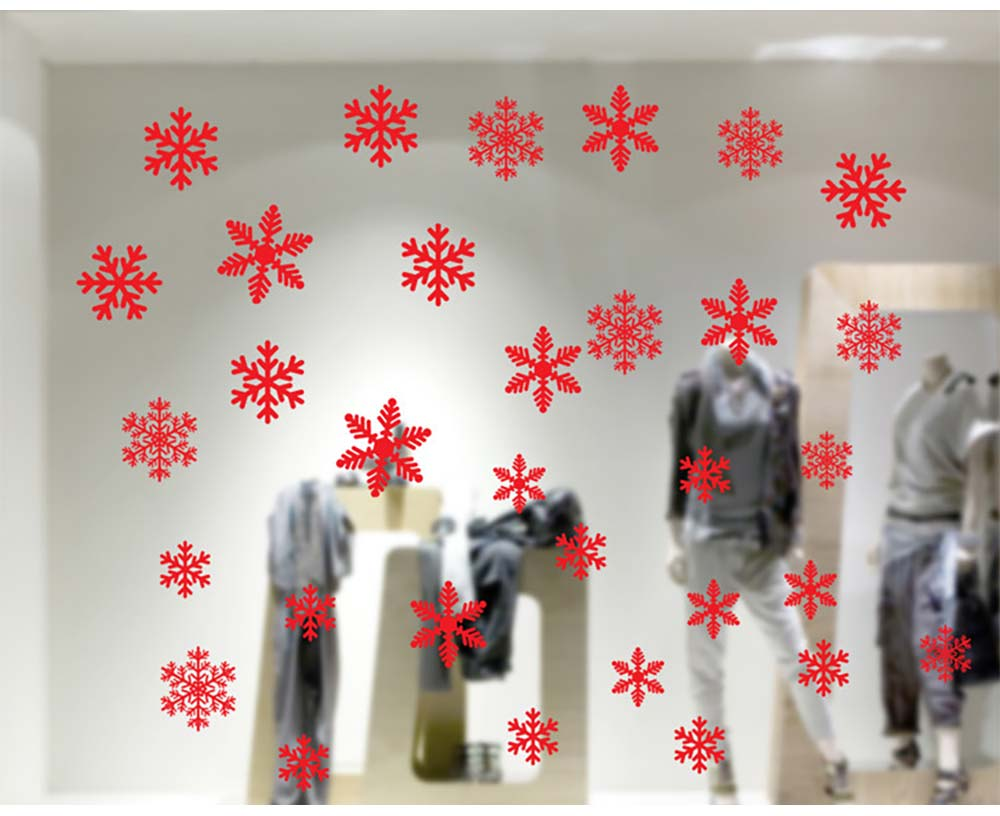 Christmas Decoration Snowflake Decals for wall