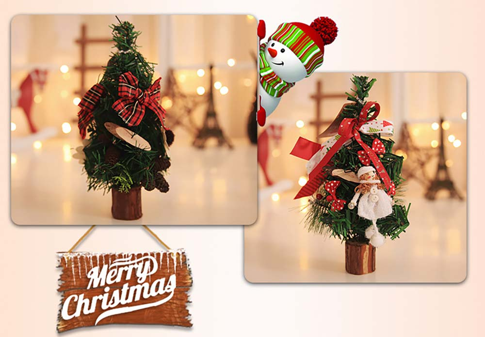 Christmas Tree Luxurious Christmas Decoration with Doll
