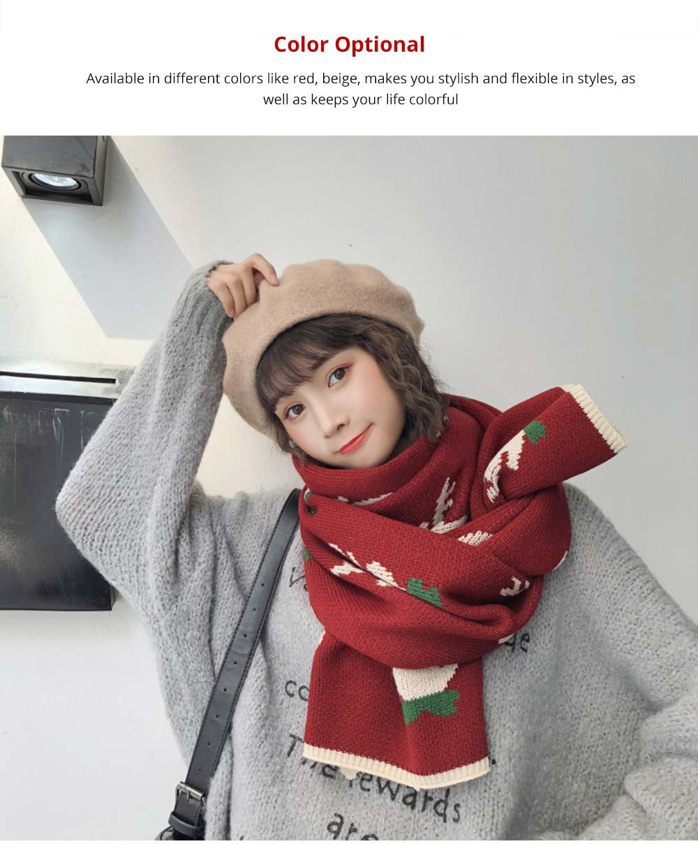Fashionable Christmas Scraf for Girls
