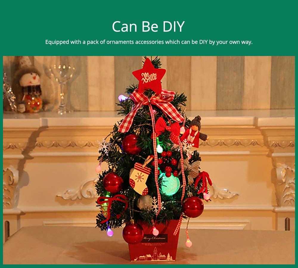 Desktop Santa Tree