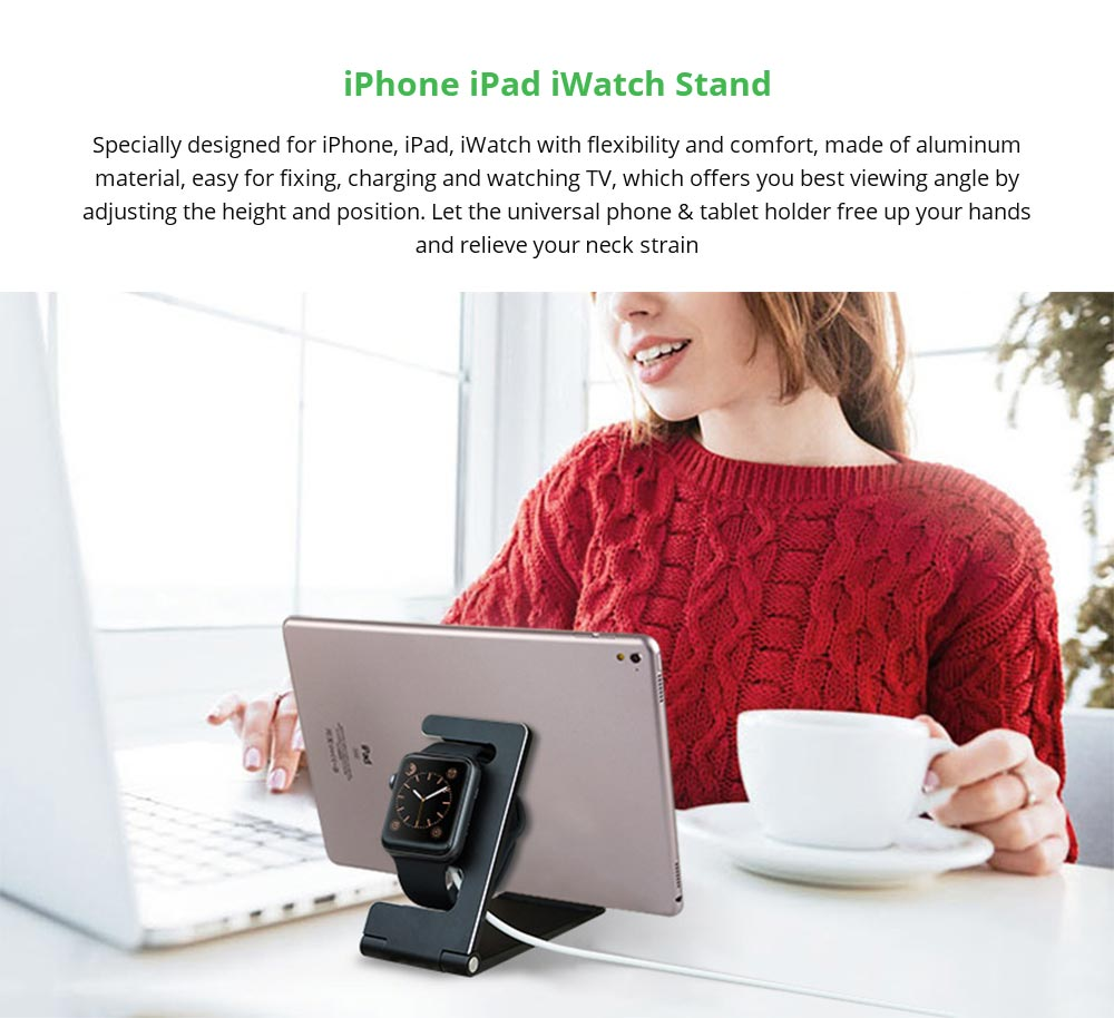 iPhone iPad iWatch charging Stand