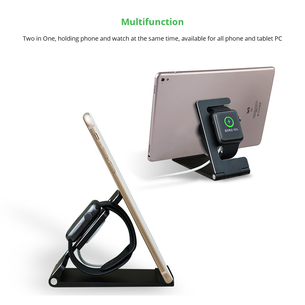 Multifunction iPhone iPad iWatch charging Stand