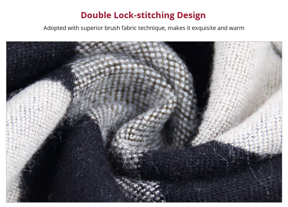 Double Lock-stitching Design