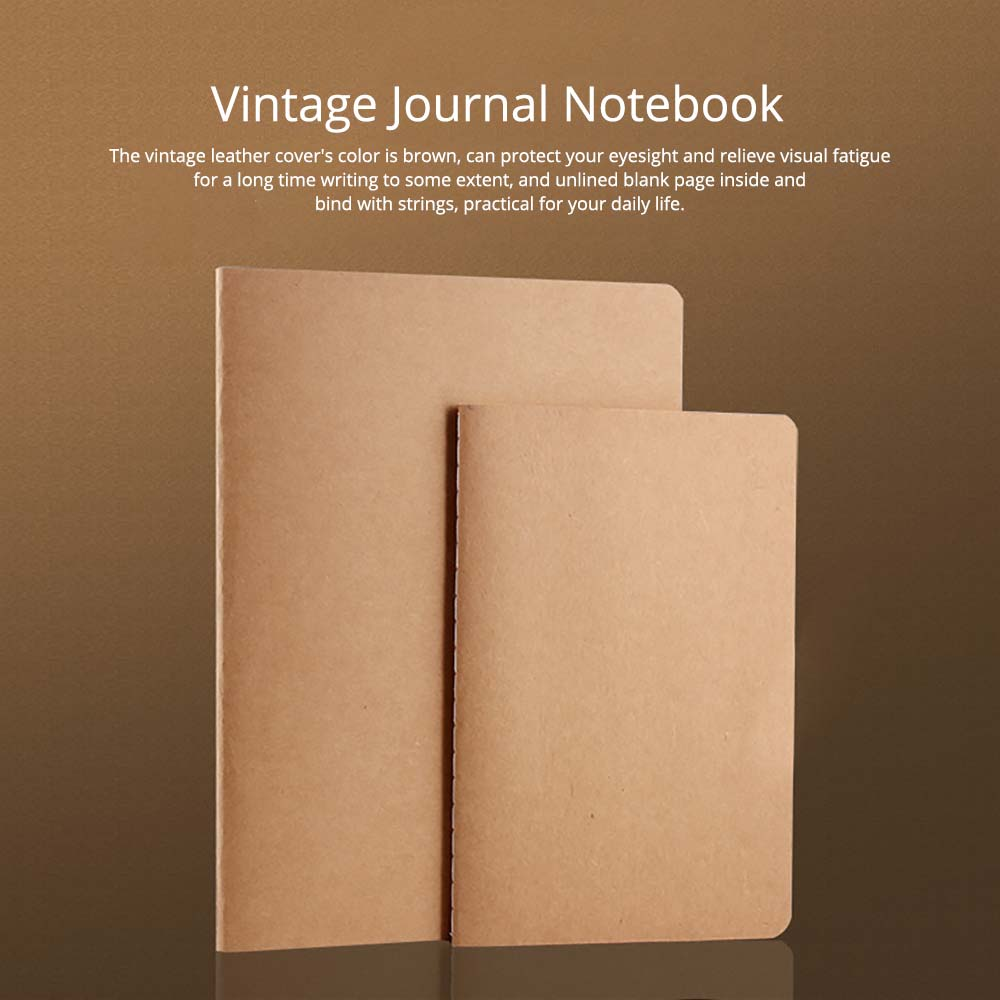 Vintage Journal Notebook