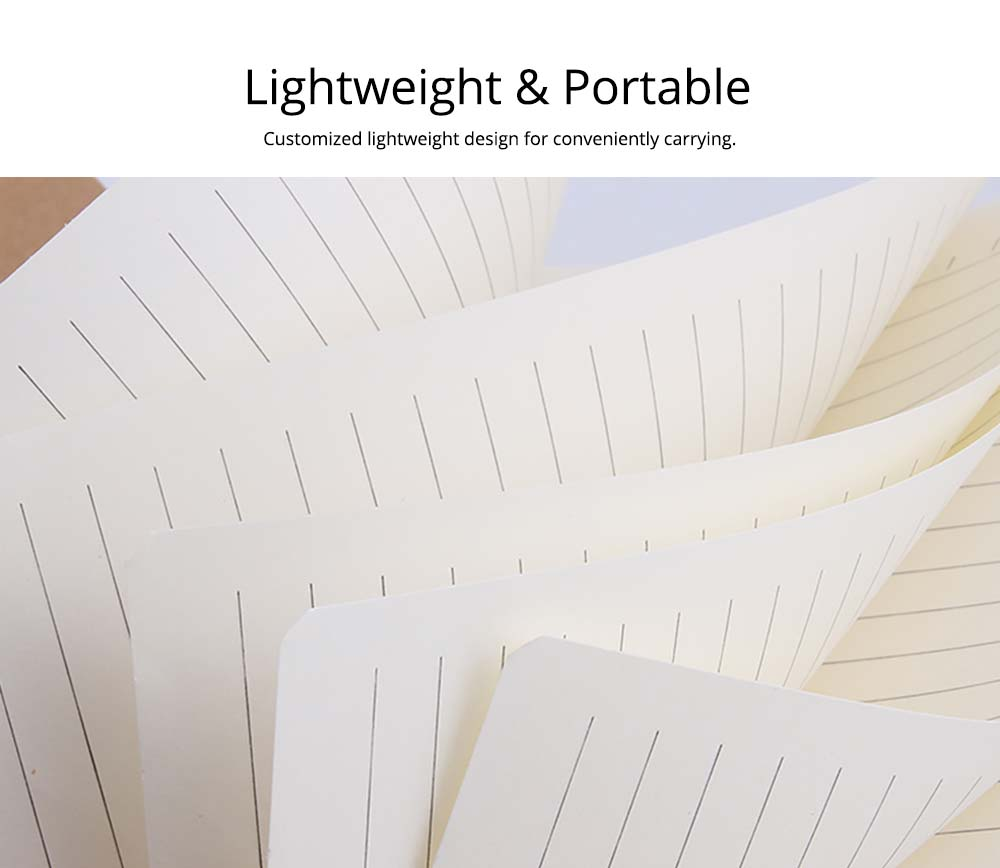 Lightweight & Portable Vintage Journal Notebook