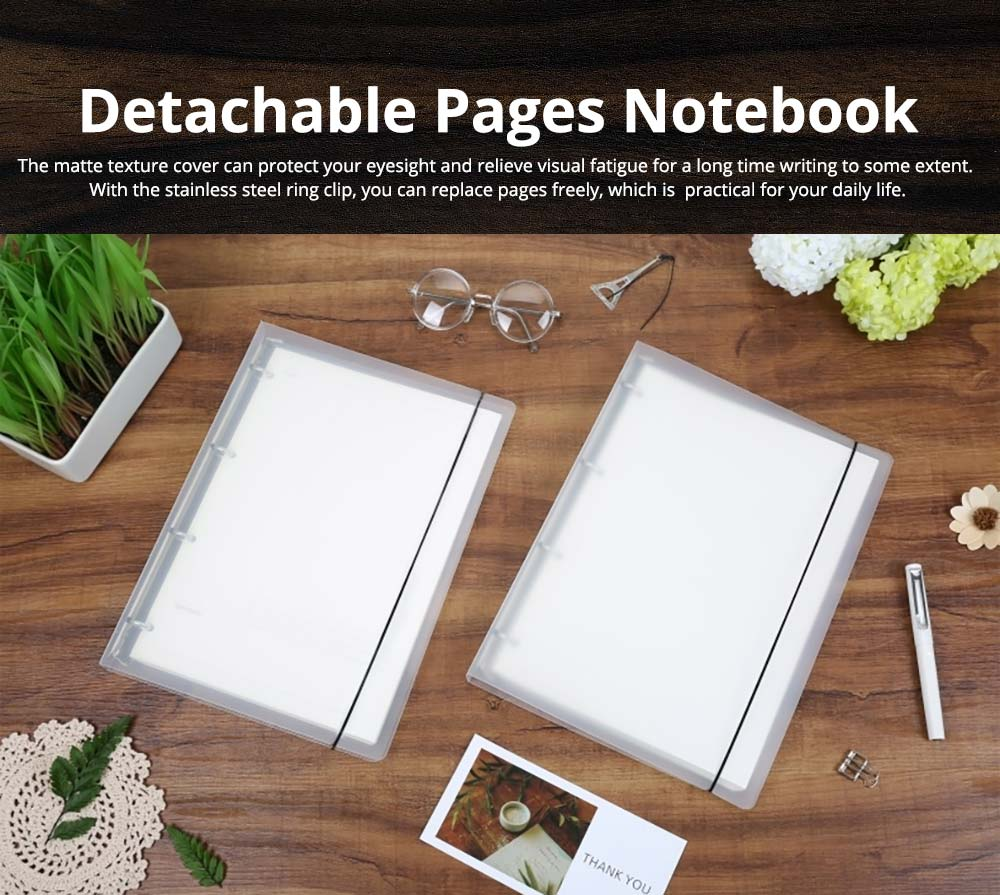 Detachable Pages Notebook