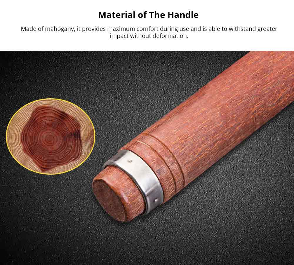 Woodworking Tools and Accessories Mahogany Hand Tools, Including Wood Chisel, Flat Chisel, Woodcut Knife, Carved Chisel, Half Round Chisel 8