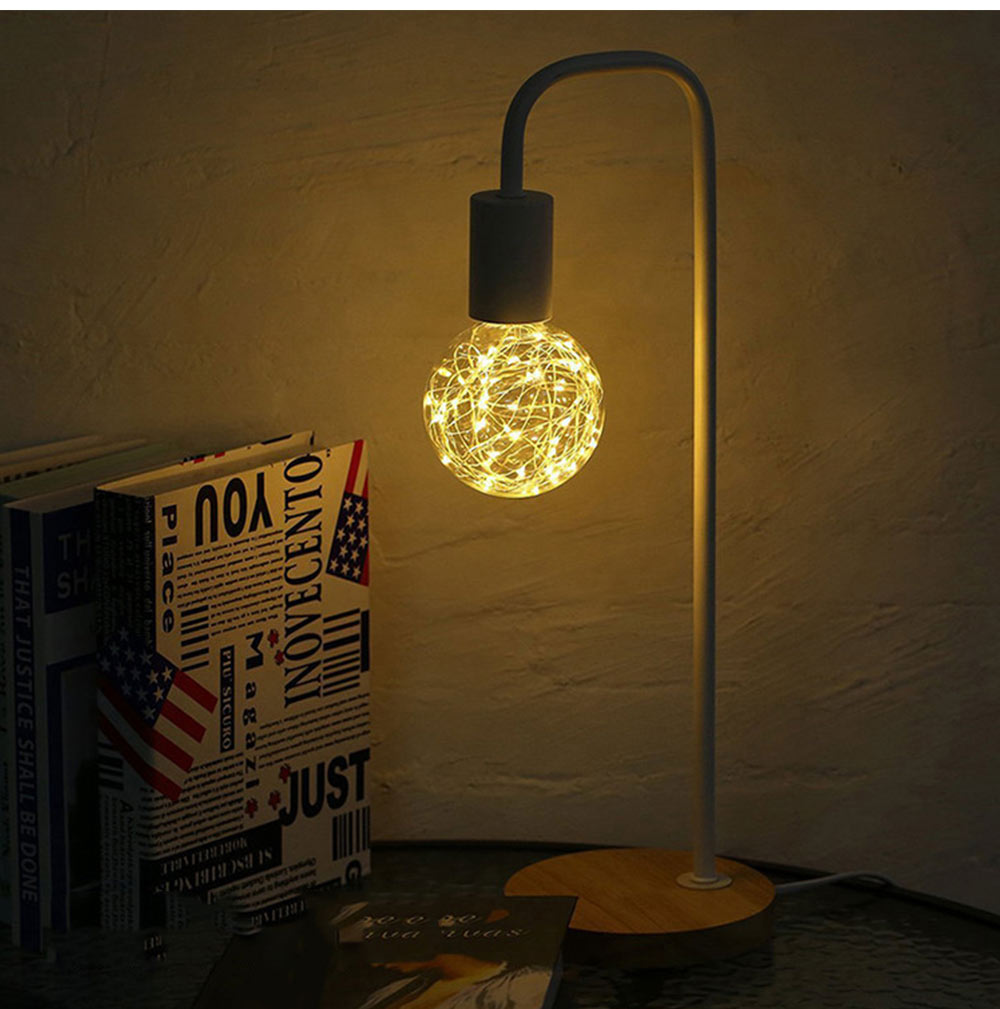 Copper Wire Lamp LED Decorative Lighting, Glass Lamp, Vintage Lamp, Copper Wire Led Lights 10