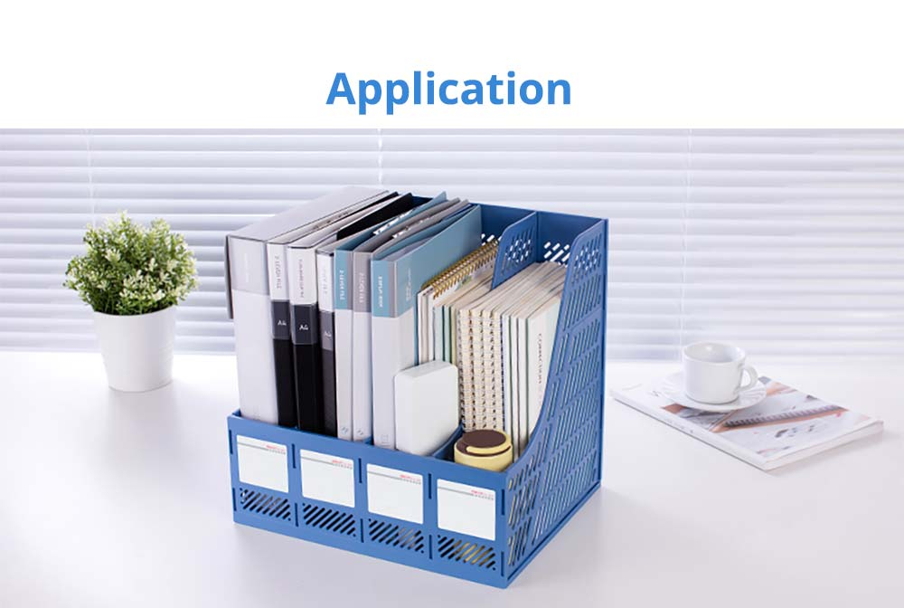 Universal File Organizer for Documents, Tickets, Home & School File, Practical Desktop Documents Storage Holder Office Supplies 18
