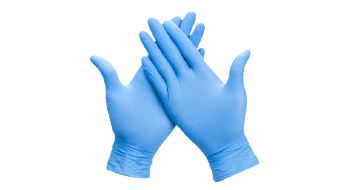 Wholesale SKYMED Blue Nitrile Gloves Disposable & Powder Free Non-sterile Gloves with FDA CE