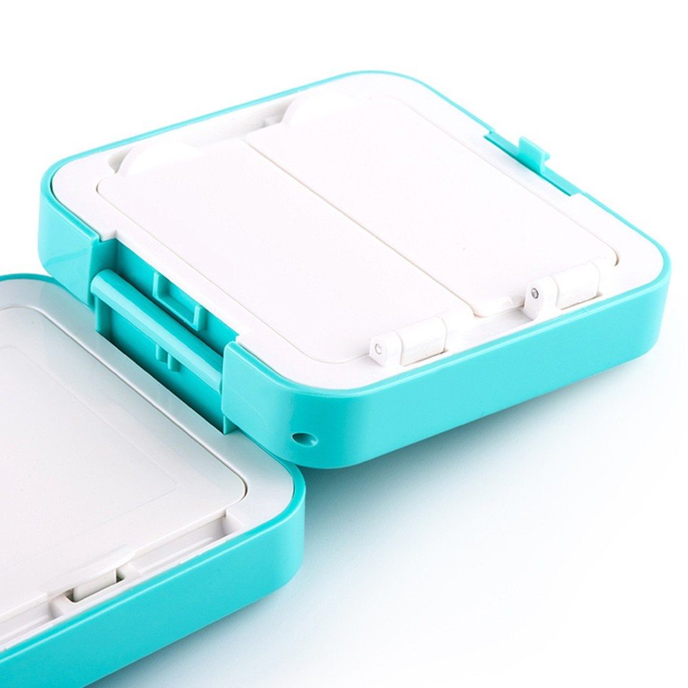 Small 7-Compartment Waterproof Plastic Pill Organizer
