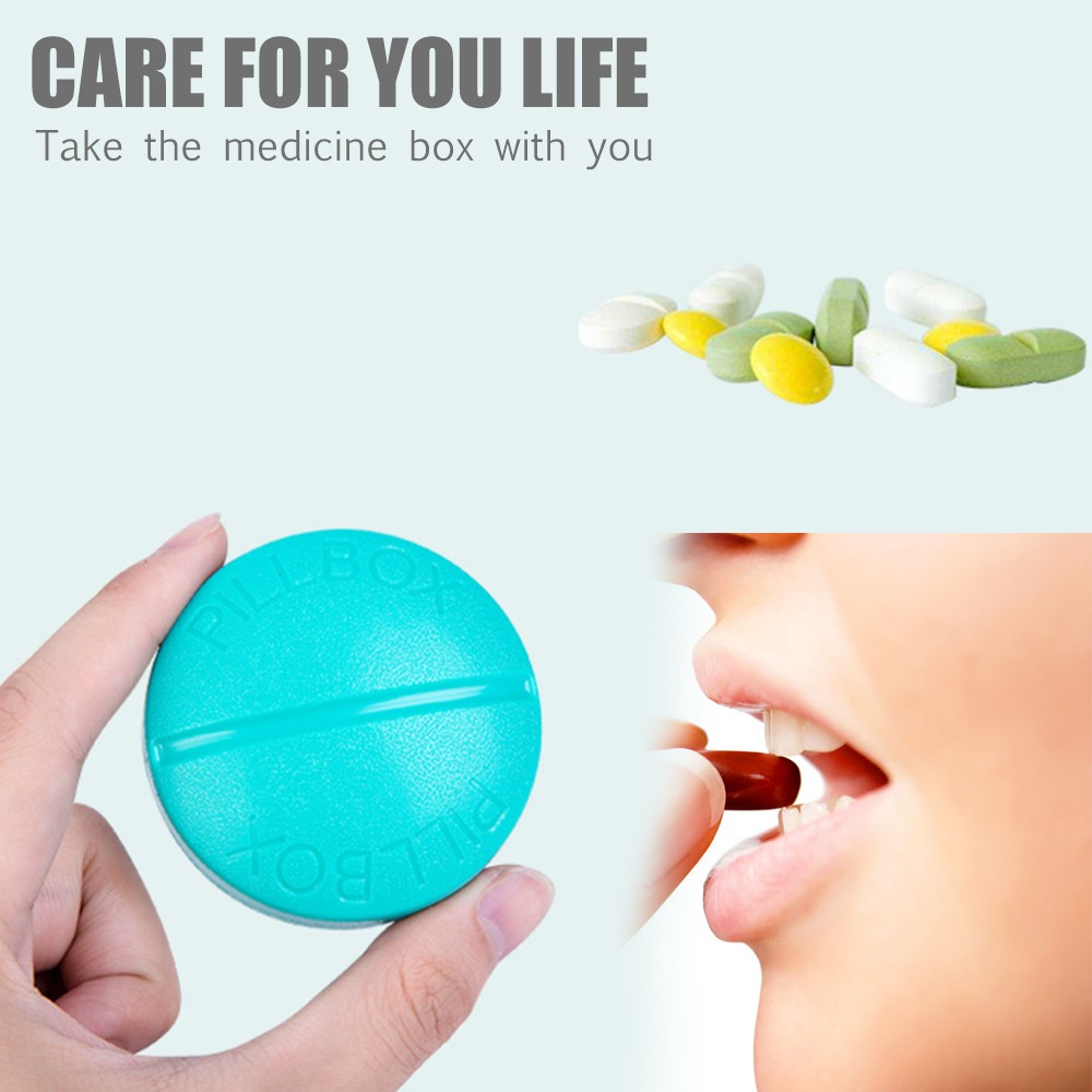Portable Pill Organizer with 4 Compartments, BPA-Free Weekly Pill Case for pocket or purse 7