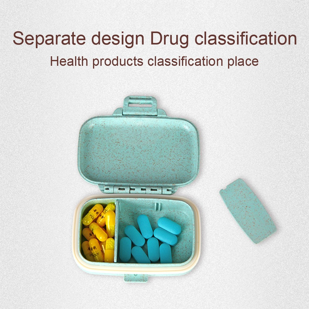 Portable Travel Pill Box