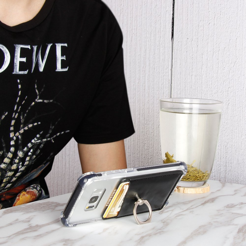 Stick On Wallet Card Holder for Mobile Phone