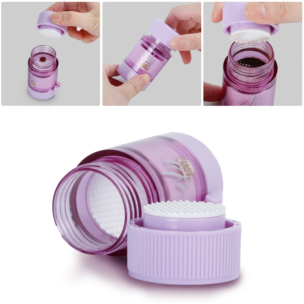 3 IN 1 Pill Tablet Cutter Powder Grinder Medicine Box Storage Container - Purple 4