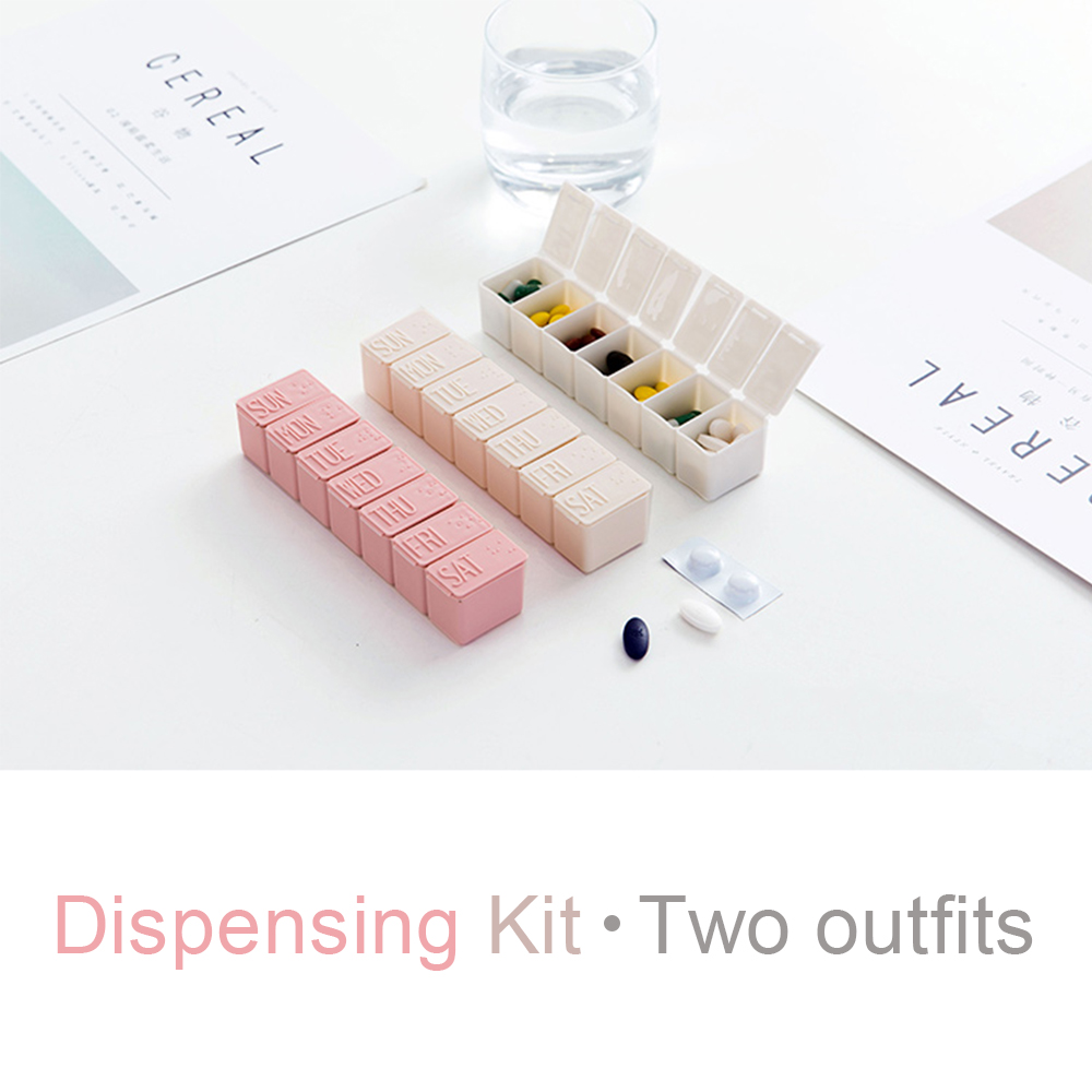 Extra Large 7-Day Weekly Pill Organizer